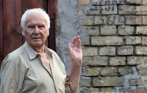 На вуліцах Гродна знайшліся яшчэ нямецкія надпісы часоў акупацыі. І ёсць новая здагадка, што яны значаць