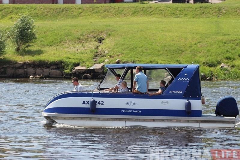 У Гродне павялічаць колькасць прычалаў для воднага таксі і пашыраць набярэжную