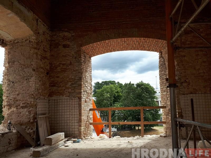 Польскі юрыст змагаецца за Стары замак у Гродне