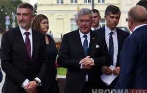 На 30-годдзе Саюза палякаў у Гродна прыехаў маршалак Сенату Станіслаў Карчэўскі
