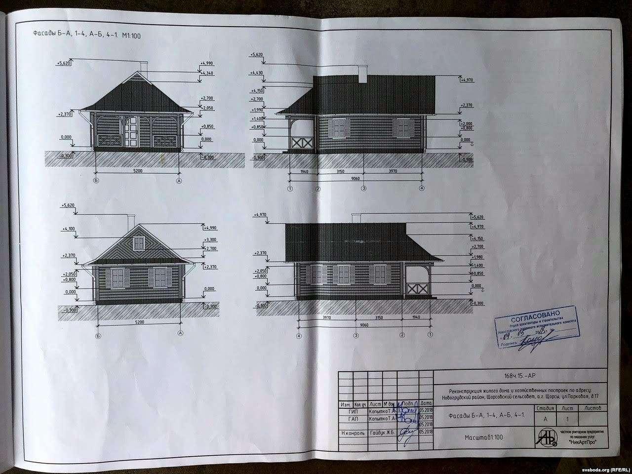Уласнік пабудовы побач з сядзібай 18 стагоддзя ў Шчорсах: «Я аказаўся закладнікам сітуацыі»