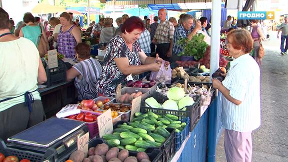 Якія парушэнні знаходзяць спецыялісты на гродзенскіх рынках, дзе гандлююць гароднінай і садавінай