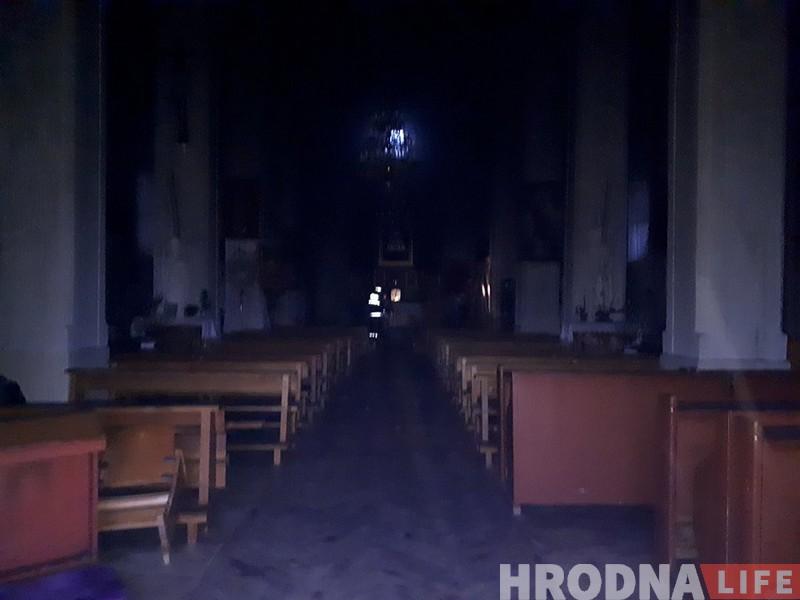 У Гожы пад Гродна гарэў касцёл