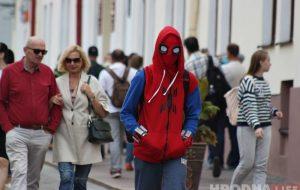 В Гродно появился новый дружелюбный сосед человек-паук