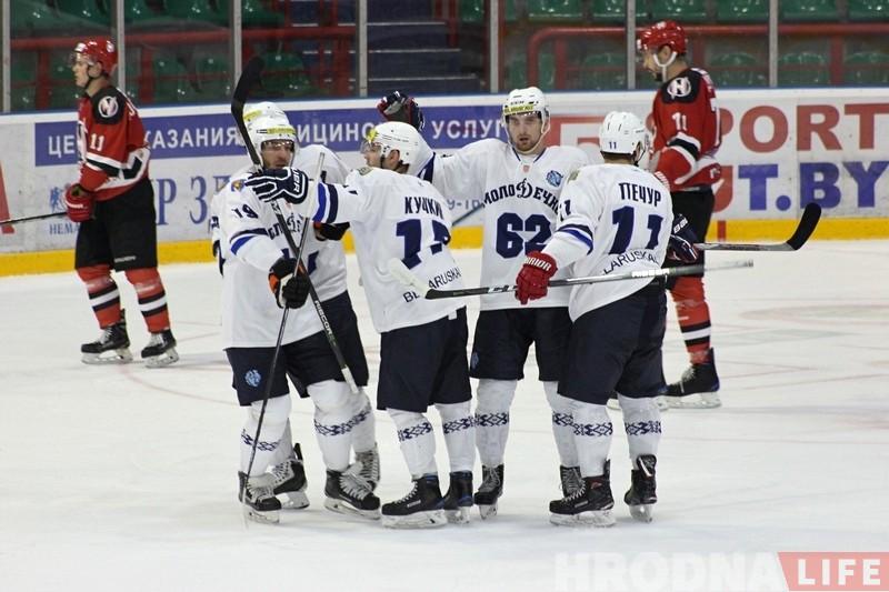 «Нёман» на сваім лёдзе саступіў «Дынама-Маладзечна»