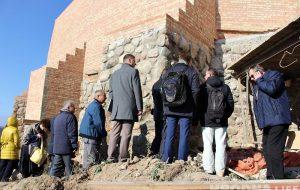 Польские эксперты приехали знакомиться с реконструкцией Старого замка в Гродно