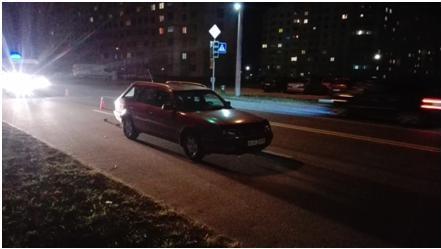 Восьмилетний мальчик попал под машину на Ольшанке. Он в больнице с многочисленными ранениями