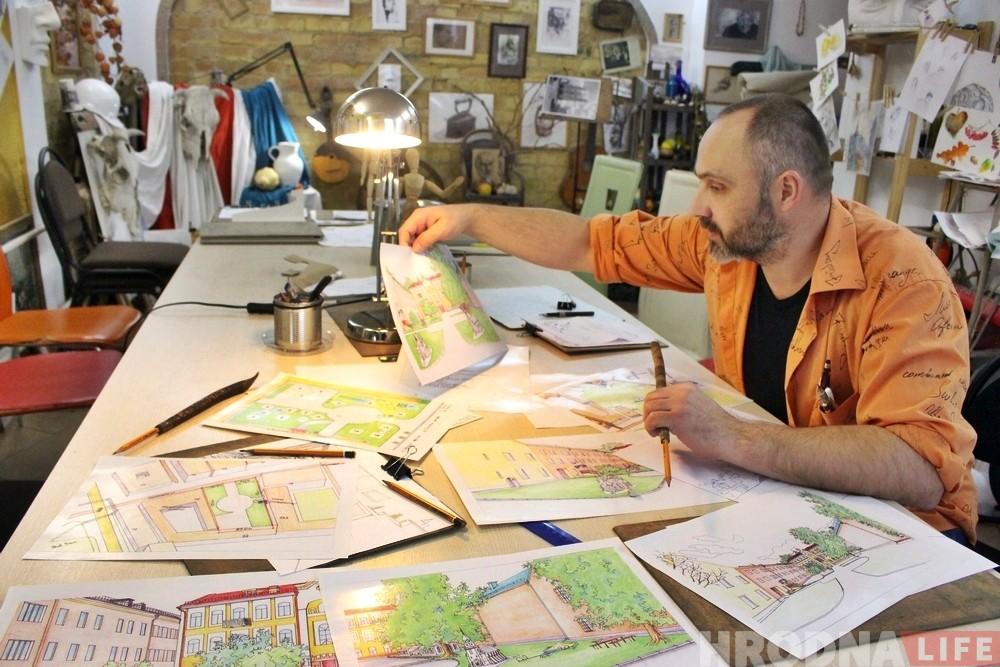 «Для города новый музей, а для горожан память». Гродненец предлагает поставить на Замковой макеты утраченных памятников истории