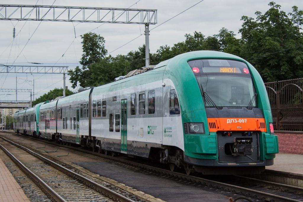 поезд ДП3 PESA БЖД