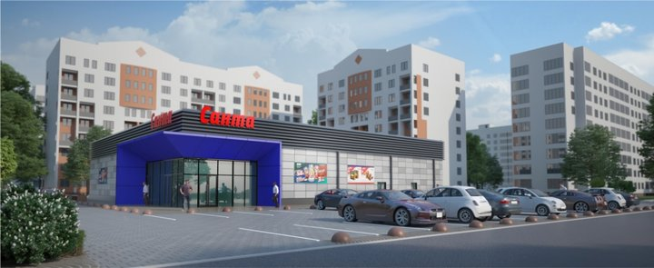 24923a33 Санта Ритейл» в октябре откроет второй магазин в Гродно. На Ольшанке ...