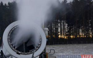 """На """"Коробчицком Олимпе"""" заработали снежные пушки. К выходным планируют запустить трассу для тюбингов"""