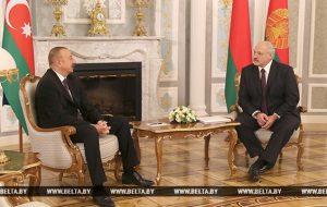 """Лукашенко предложил Азербайджану инвестировать в """"Гродно Азот"""""""