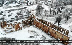 Северную башню Гольшанского замка восстановят до конца 2018 года