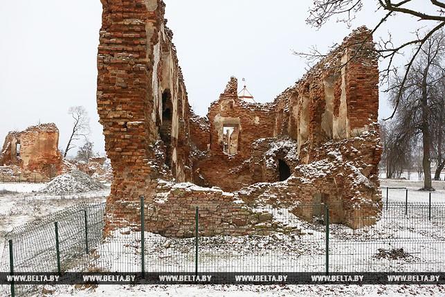 Паўночную вежу Гальшанскага замка адновяць да канца 2018 года