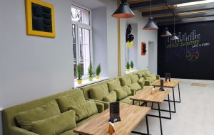 Новое место: на Академической открылось кафе-студия #Yellowstreet17