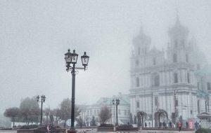 Як у Сайлент Хіл або ў кнігах Сцівена Кінга: 10 фота туманнага Гродна з Instagram