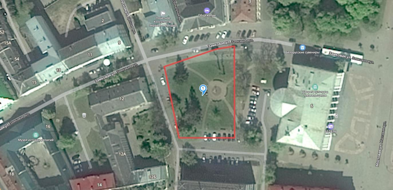 Цена земли в Гродно: земля под офис на Замковой дешевле участков под дома