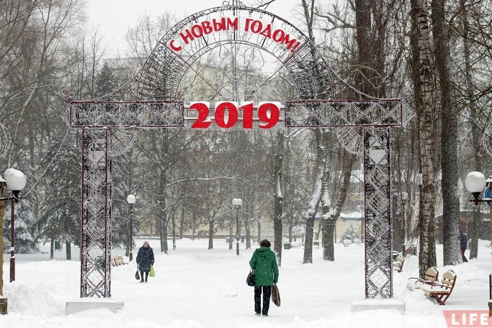 Фотарэпартаж: Гродна патанае ў снезе