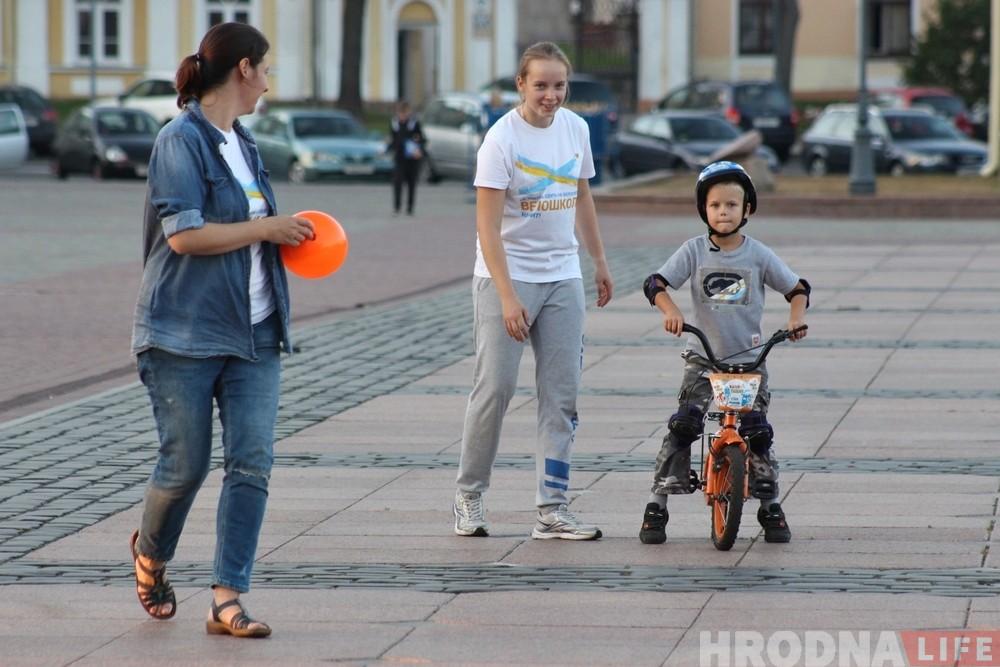 Учимся к лету: велошкола в Гродно будет работать даже зимой