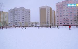 В Гродно начинают заливать катки. Смотрите, где их искать