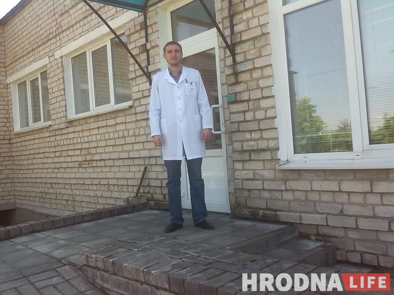 «Белорусскоязычный врач отгоняет болезнь и поднимает настроение». Отыскали в Гродно врача, что всегда переходит на язык пациента