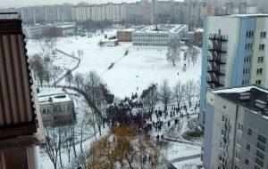 В гимназии №9 экстренно эвакуировали школьников и учителей