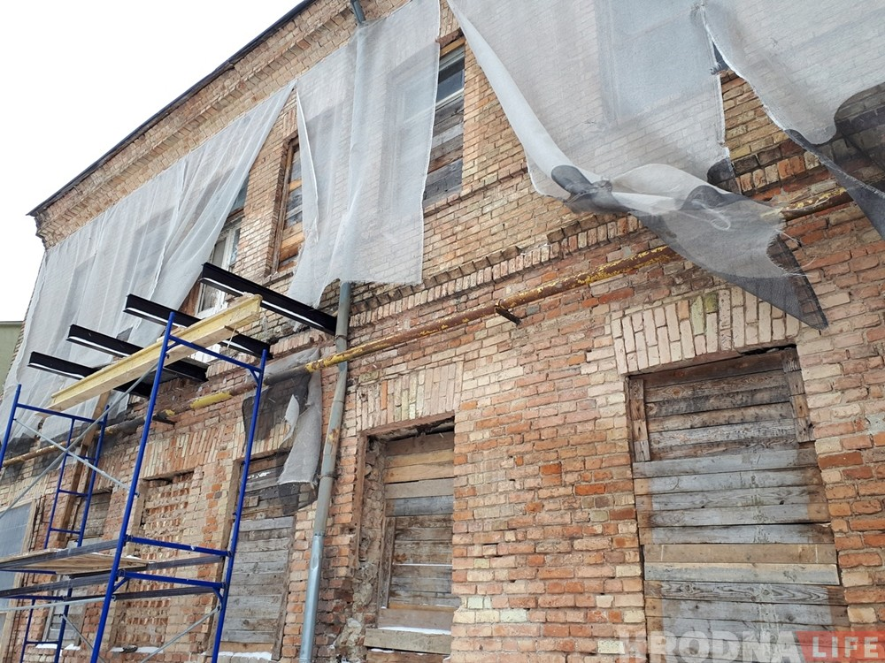 Куды зніклі старадаўнія балконы на Гараднічанскай?