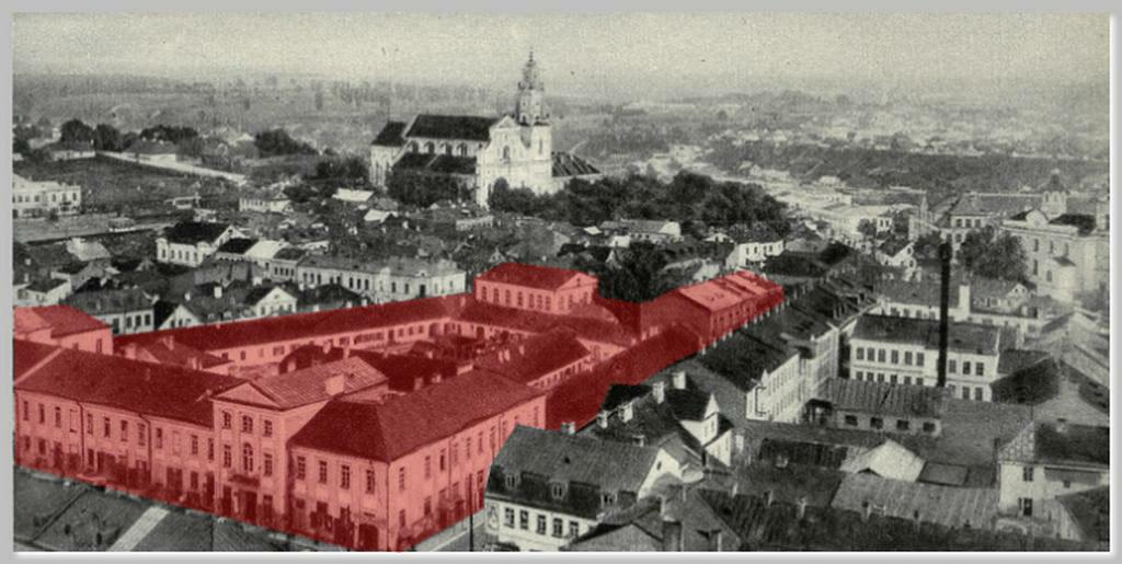 Комплекс будынкаў Брэгмана. Фота 1920-х