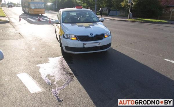 Таксист из Гродно за смертельный наезд на переходе приговорен к 2 годам колонии-поселения
