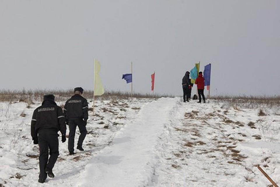 Горки для катания будет патрулировать милиция, а самые опасные засыплют песком
