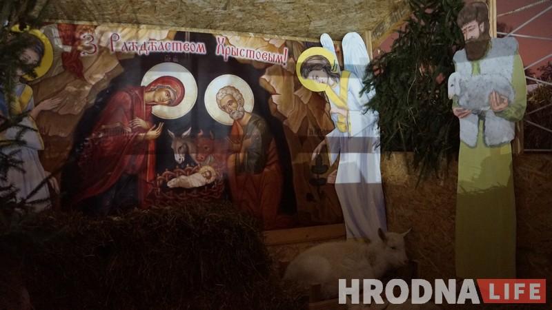 Начная літургія да Божага нараджэння прашла ў Каложскай царкве (фота)