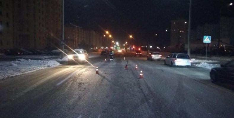 За несколько часов установили автомобиль и водителя, который сбил пешехода и скрылся с места ДТП