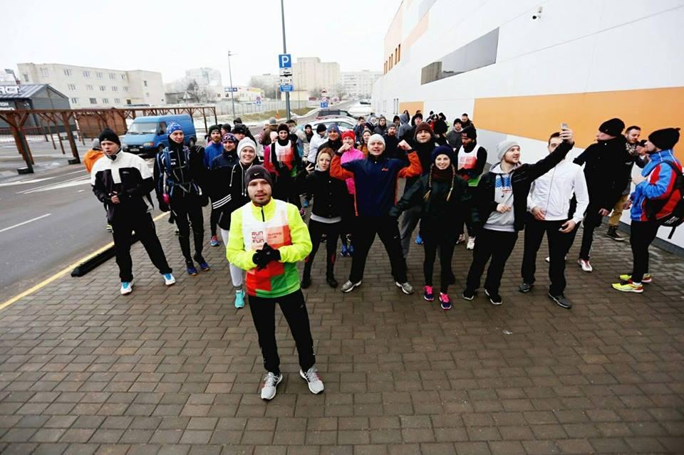 «Хотим оживить бегунов от зимней спячки». Run4Fun приглашает на пробег вокруг Гродно