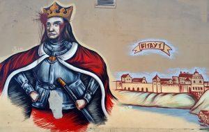 Вітаўт Витовт графіці граффити стритарт стрытарт