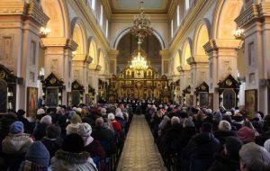 В Гродно проходит международный фестиваль православных песнопений «Коложский Благовест»