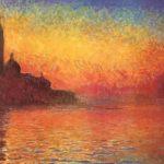 Малюем «Змярканне. Венецыя» Клода Манэ