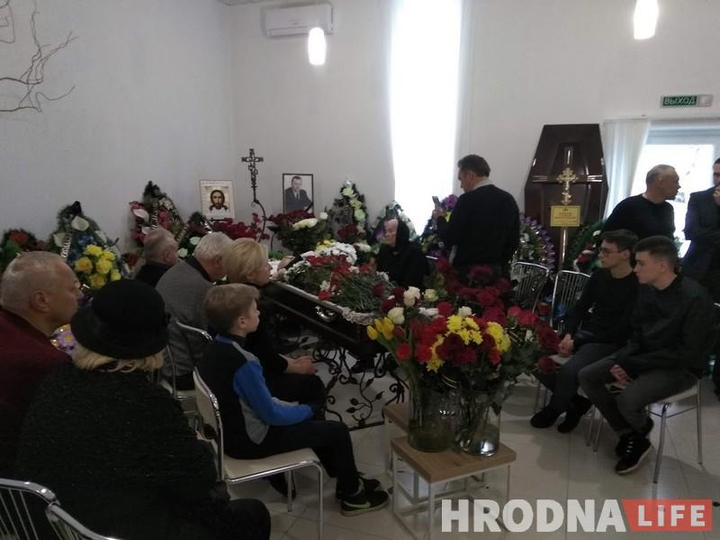 В Гродно простились с Семеном Домашем