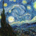 """Малюем працу Вінцэнта Ван Гога """"Зорная ноч»"""