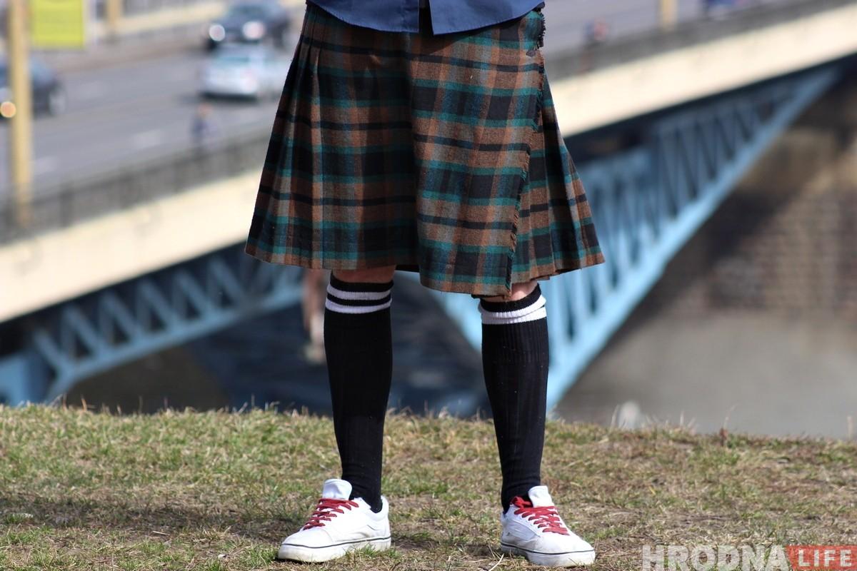 """«Надел килт и понял, что это моё». Гродненец рассказал, почему носит """"юбку"""""""