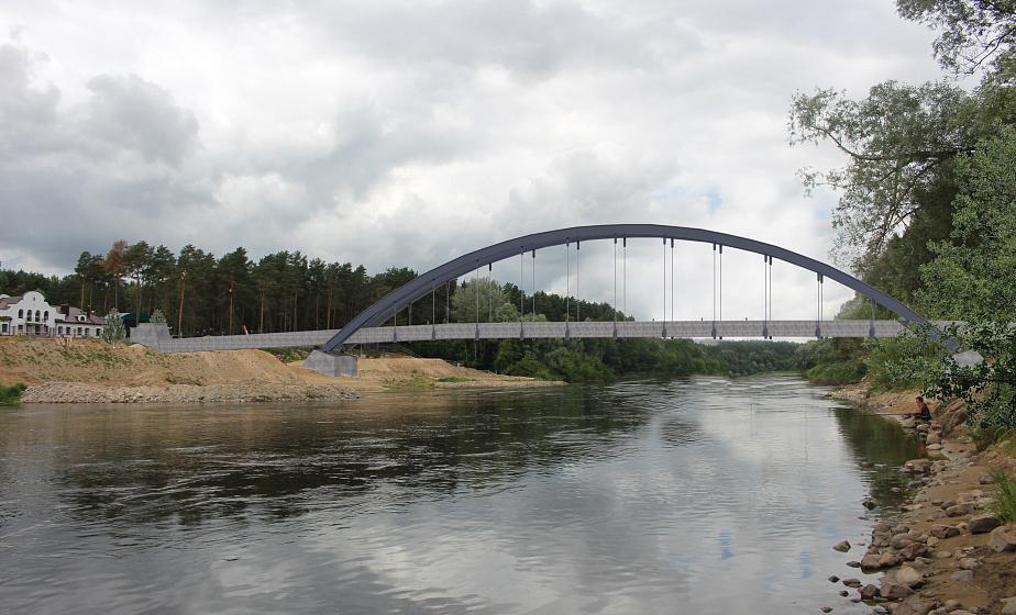 В Гродно появится арочный пешеходный мост
