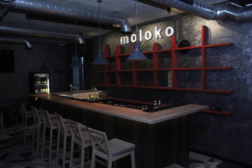 На Калючынскай адкрываецца бар «moloko»
