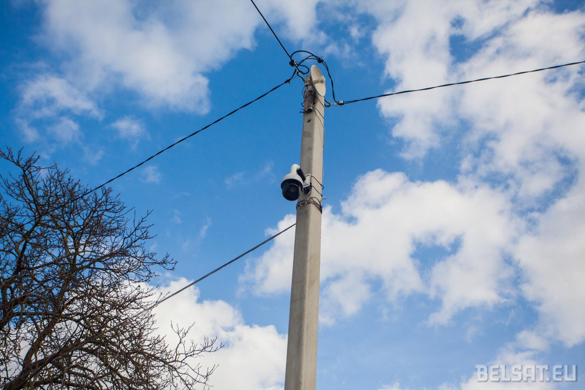 У Гродне напярэдадні канцэрту да Дня Волі павесілі камеры відэаназірання