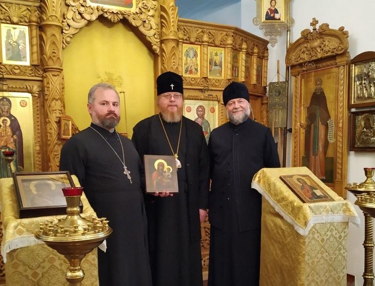 В Гродно вернулась историческая копия утерянной Коложской иконы. Ее привезли из Германии