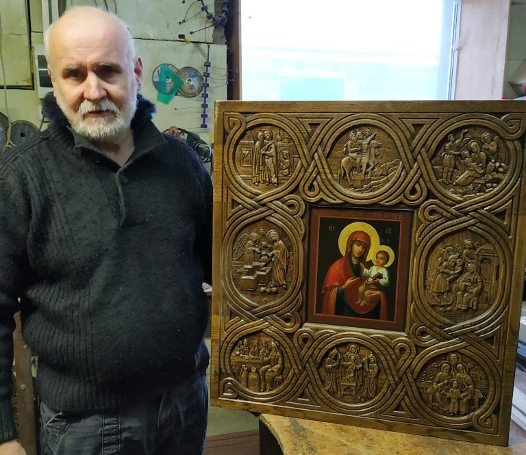 У Гродна вярнулася гістарычная копія страчанай Каложскай іконы. Яе прывезлі з Германіі