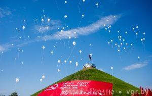 На Кургане Славы появится надпись из цветов