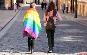 ЛГБТ LGBT радужный флаг