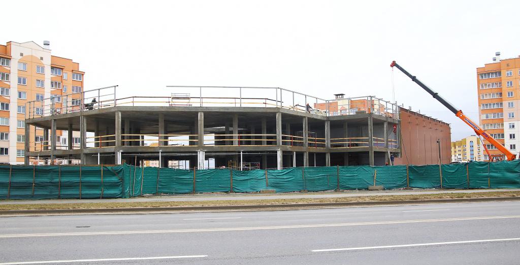 Альшанка: супермаркеты, паліклініка, школа. Што будуюць у мікрараёне?