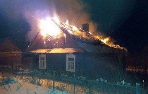 Лидчанин поджег собственный дом, чтобы получить страховку