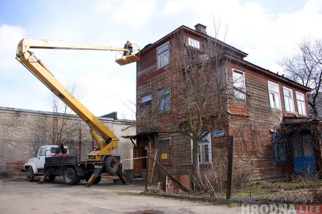Ценные деревянные постройки в Гродно выставят на аукцион