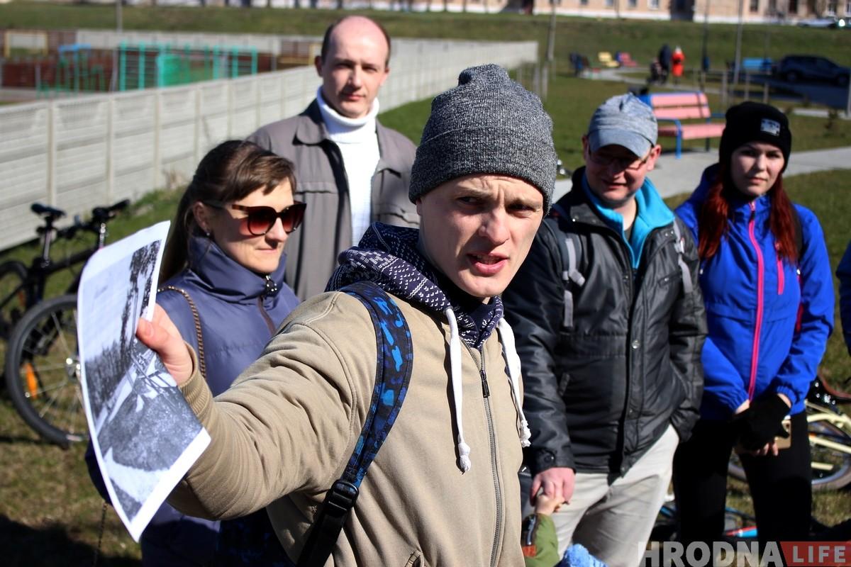 Ад старога стадыёна да новага: Руслан Кулевіч правёў першую экскурсію па гісторыі спорту ў Гродне